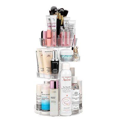 Jerrybox Makeup Organizer Adjustable Professional Makeup Organizer