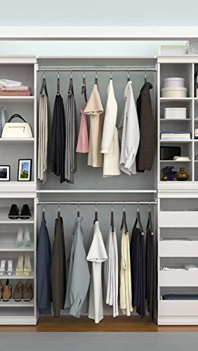ClosetMaid Modular Closet Storage Shelf and Hang Rod Kit
