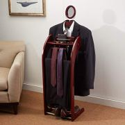 Etienne Alair Clothes Valet Stand for Men with Mirror