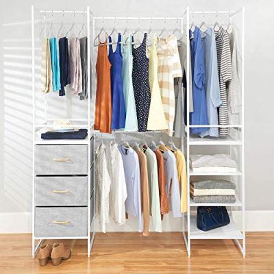 mDesign Modular Closet Organizer System, Storage Unit