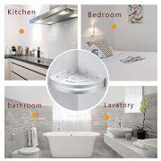 BESy Shower Corner Caddy Bathroom Shower Corner Shelf