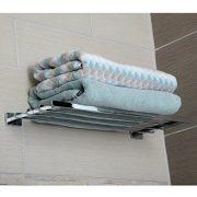 AmazonBasics Euro Towel Rack Bathroom Shelf