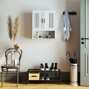 VASAGLE Wall Cabinet, Hanging Bathroom Storage Organizer