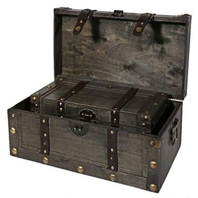 Soul & Lane Miranda Decorative Wooden Storage Boxes