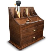 Ikee Design Premium Wooden Cosmetic Storage Office