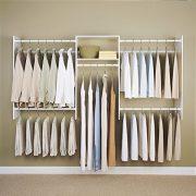 Easy Track 4'-8' Basic Starter Kit Closet Storage