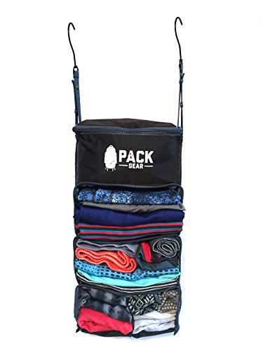 Luggage Organizer Packing Cubes - Collapsible Suitcase Backpack