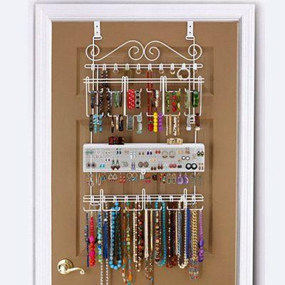 Longstem Organizers Over-Door/Wall Jewelry Organizer
