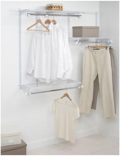 Rubbermaid Configurations Custom Closet Starter Kit
