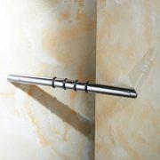 Sanliv Corner Shower Foot Rest Wall Mounted Hotel Bathroom Shower Step