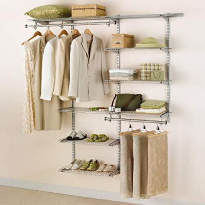 Rubbermaid Configurations Closet Kits, 3-6 Ft., Deluxe