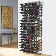 Wine Enthusiast Bottle Tie Grid, Black