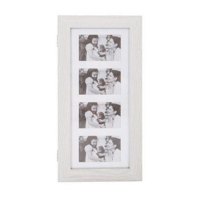 Bonnlo Photo Frames Jewelry Armoire Wall Mounted,Key Storage