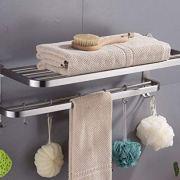 ELLO&ALLO Stainless Steel Rack Shelf for Bathroom