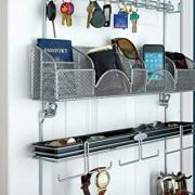 Men's Over the Door/Wall Belt Tie Valet Organizer