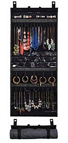 Donna Walsh, The Ultimate Jewelry Scroll - Hanging Storage Organizer