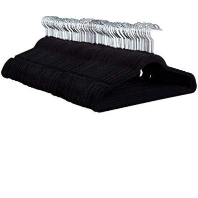 ZOBER Non-Slip Velvet Hangers - Suit Hangers (100 Pack)