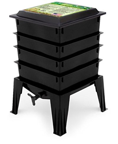 Worm Factory Worm Composter, Black