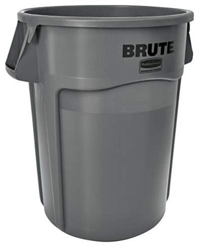Rubbermaid Commercial Products BRUTE Heavy-Duty Round Trash/Garbage Can