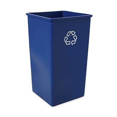 Rubbermaid Commercial Products 50-Gallon Untouchable Square Trash