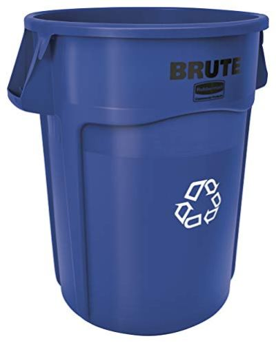 Rubbermaid Commercial BRUTE Heavy-Duty Round Recycling Container