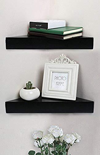 Shelving Solution Corner Wall Shelf, Set of 2