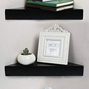 Shelving Solution Corner Wall Shelf, Set of 2