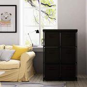 Home-Like 6-Drawer Storage Organizer Unit Fabric Chest Cabinet
