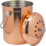 Sorbus Compost Bin, Copper, 1 Gallon