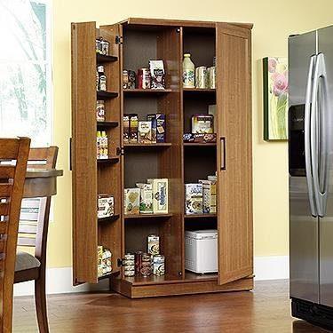 Sauder Double Door Storage Cabinet, Large
