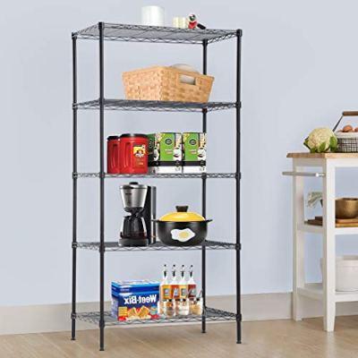BestOffice 5-Wire Shelving Unit Steel NSF Large Organizer Garage