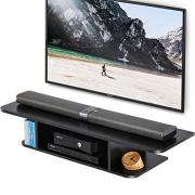 FITUEYES Wall Mounted Media Console,Floating TV Stand Component Shelf