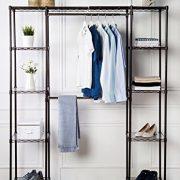 AmazonBasics Expandable Metal Hanging Storage Organizer Rack