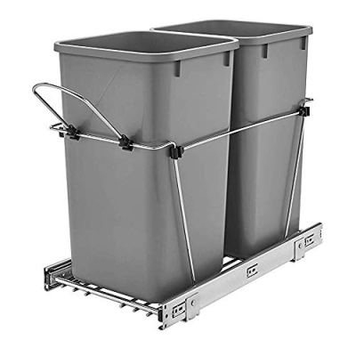Rev-A-Shelf Double 27 Quart Pullout Waste Containers