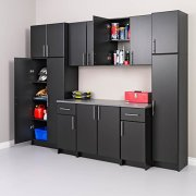 "Prepac Elite Storage Cabinet 32"", Black"