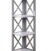 Convenience Concepts Oxford 3-Tier Corner Bookcase