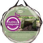 Tierra Garden Haxnicks Roll-Mix Composter, 41 Gallon Capacity