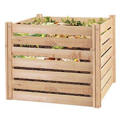 Greenes Fence Cedar Wood Composter