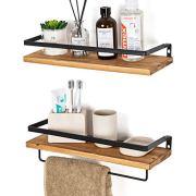 SODUKU Floating Shelves Wall Mounted Storage Shelves for Kitchen