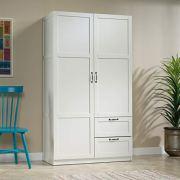 "Sauder Storage Cabinet, L: 40.00"" x W: 19.45"" x H: 71.10"""