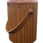 Eco-cycle VermiTek Bamboo Compost Pail