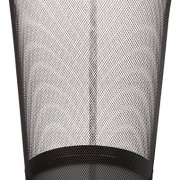 AmazonBasics Mesh Trash Can Wastebasket, Black