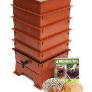Worm Factory -Tray Worm Composter, Terra Cotta