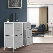 Sorbus Dresser with 5 Drawers - Furniture Storage Tower Unit for Bedroom