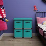 MULSH Storage Shelf Drawer Chest Organizer Units Storage Cabinet