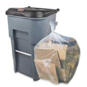 Plasticplace 95-96 Gallon Garbage Can Liners │ 1.5 Mil