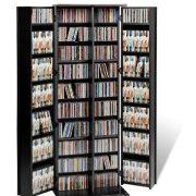 Prepac Grande Locking Media Storage Cabinet with Shaker Doors Storage Cabinet