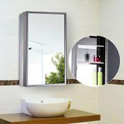"""HOMCOM Vertical 24"""" Stainless Steel Bathroom Wall"""