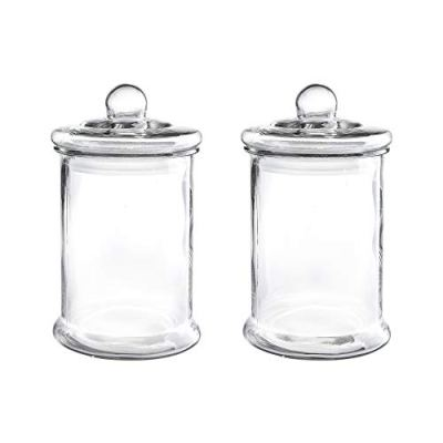 1.25 Gal Glass Apothecary Jar 7.5X13.2 Inch Canister Set