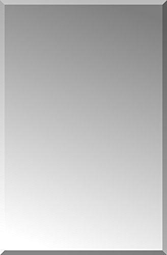"""ArtsyCanvas 16"""" x 20"""" Beveled Bathroom Mirror, Wall Mirror"""